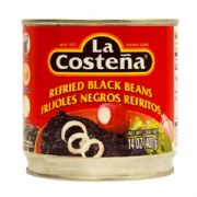 Refried Black Beans (Frijoles ) from Mexico,  400g
